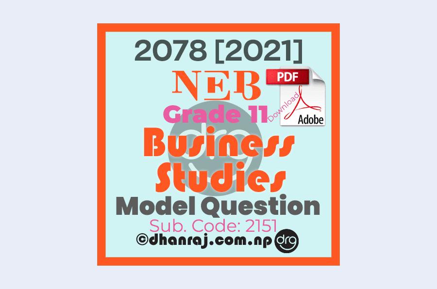 Model-Question-of-Optional-II-Business-Studies-Subject-Code-2151-Grade-11-XI-2077-2078-NEB-Download-in-PDF
