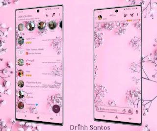 Rosa Flowers Theme For YOWhatsApp & Fouad WhatsApp By Driih Santos