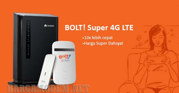 Paket Internet Unlimited Murah BOLT 4G Terbaru 2015