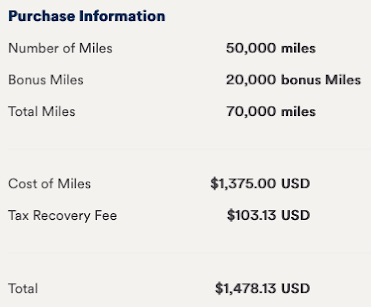 Has the price to buy Alaska Airlines Mileage Plan miles been increased?