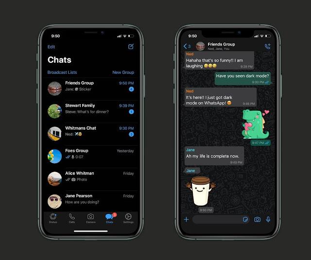 WhatsApp Dark Mode Finally Goes Stable