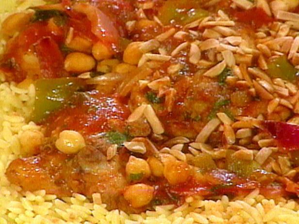 Cook chicken in oil in nonstick skillet Moroccan Chicken Stew Recipe