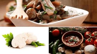 Recettes champignons au masala et herbes