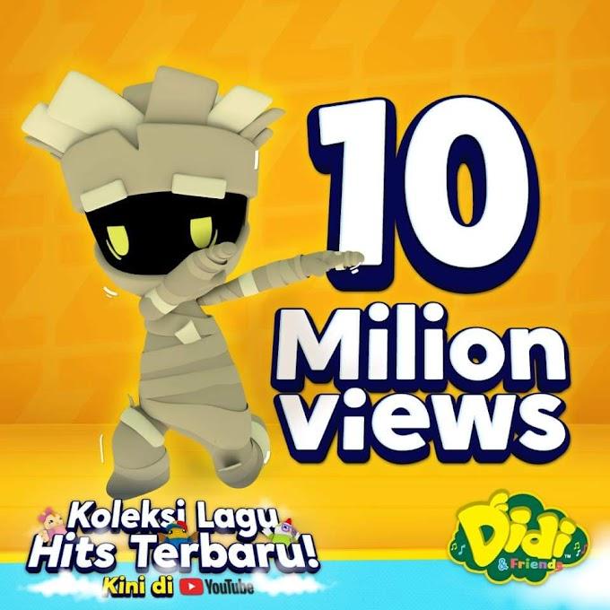 Baru 3 minggu di Youtube, 'Mengantuknya Mumia' cecah 10 juta views!