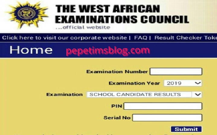 WAEC Releases May/June 2019 Examination Results - PEPETIMSBLOG