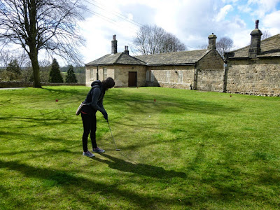 Putting course at Knaresborough's Castle Yard