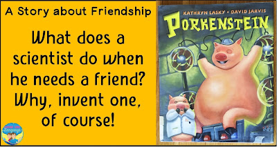 Porkenstein, by Kathryn Lansky, is a great book for SLPs!