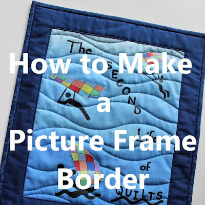 how to make a picture frame border