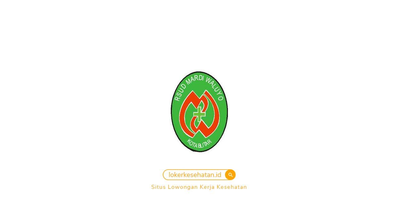 Rekrutmen Relawan COVID-19 di RSUD Mardi Waluyo Blitar Jawa Timur 2021