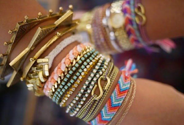 arm party friendship bracelets