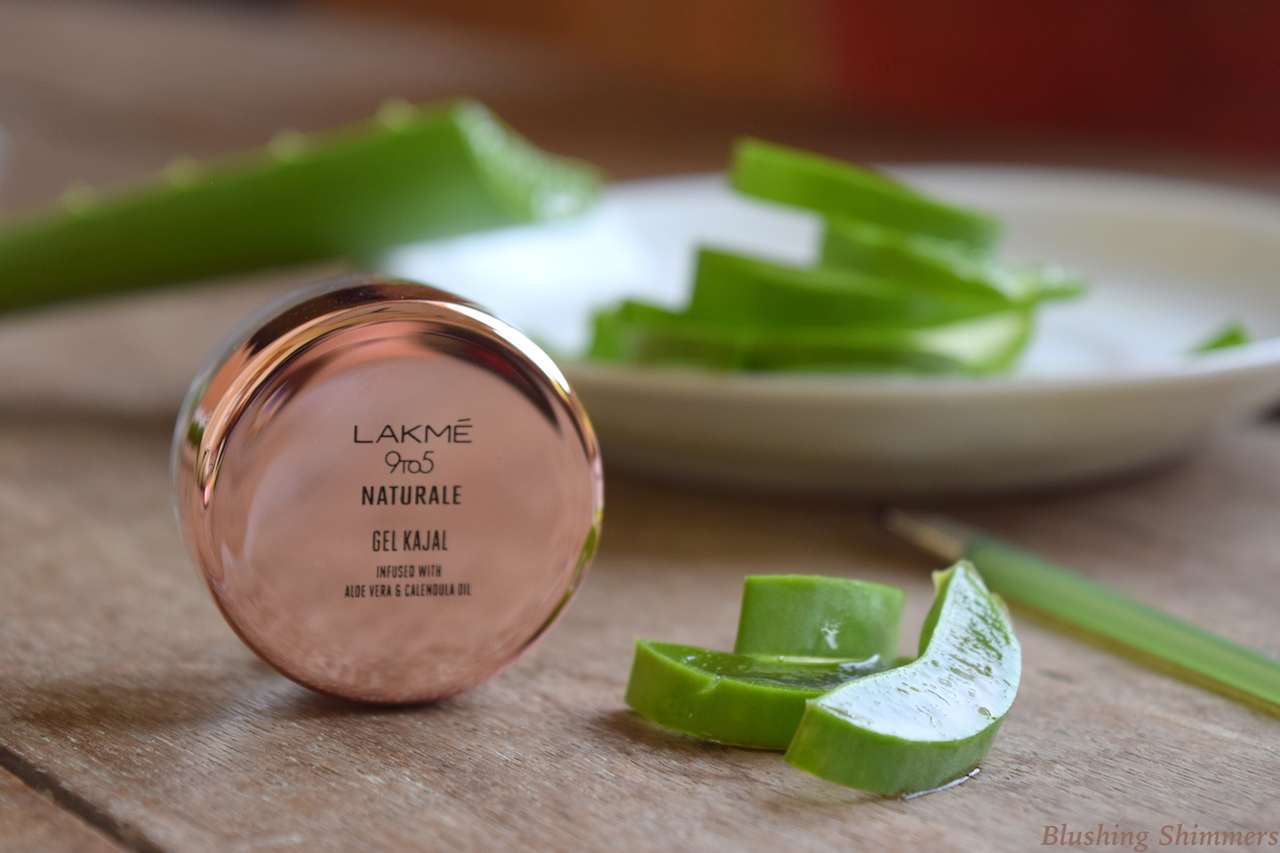 Lakme 9 to 5 Naturale Gel Kajal Review