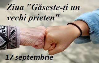 """17 septembrie: Ziua """"Găsește-ți un vechi prieten"""""""