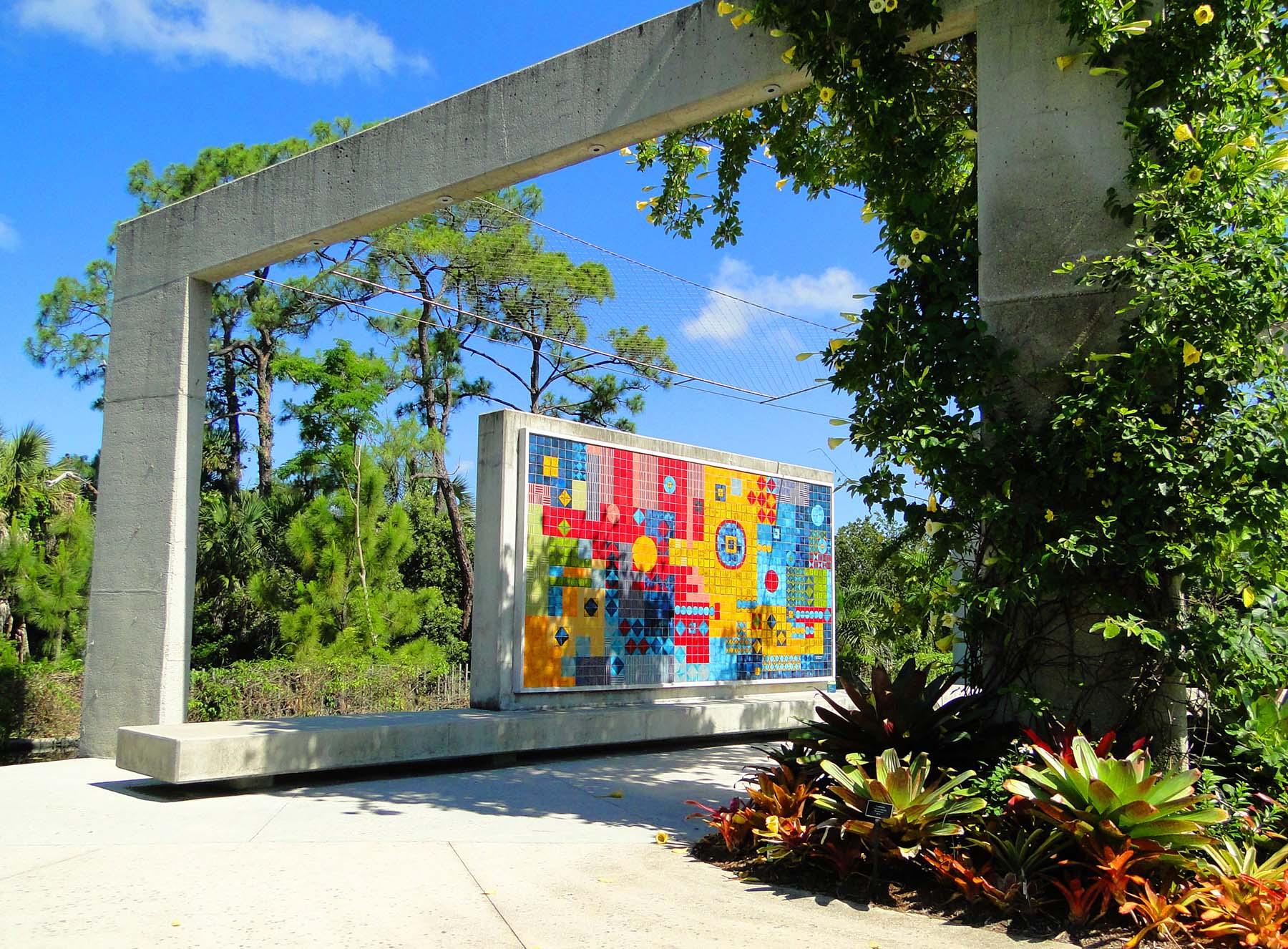 Jardim Botânico de Naples, EUA.