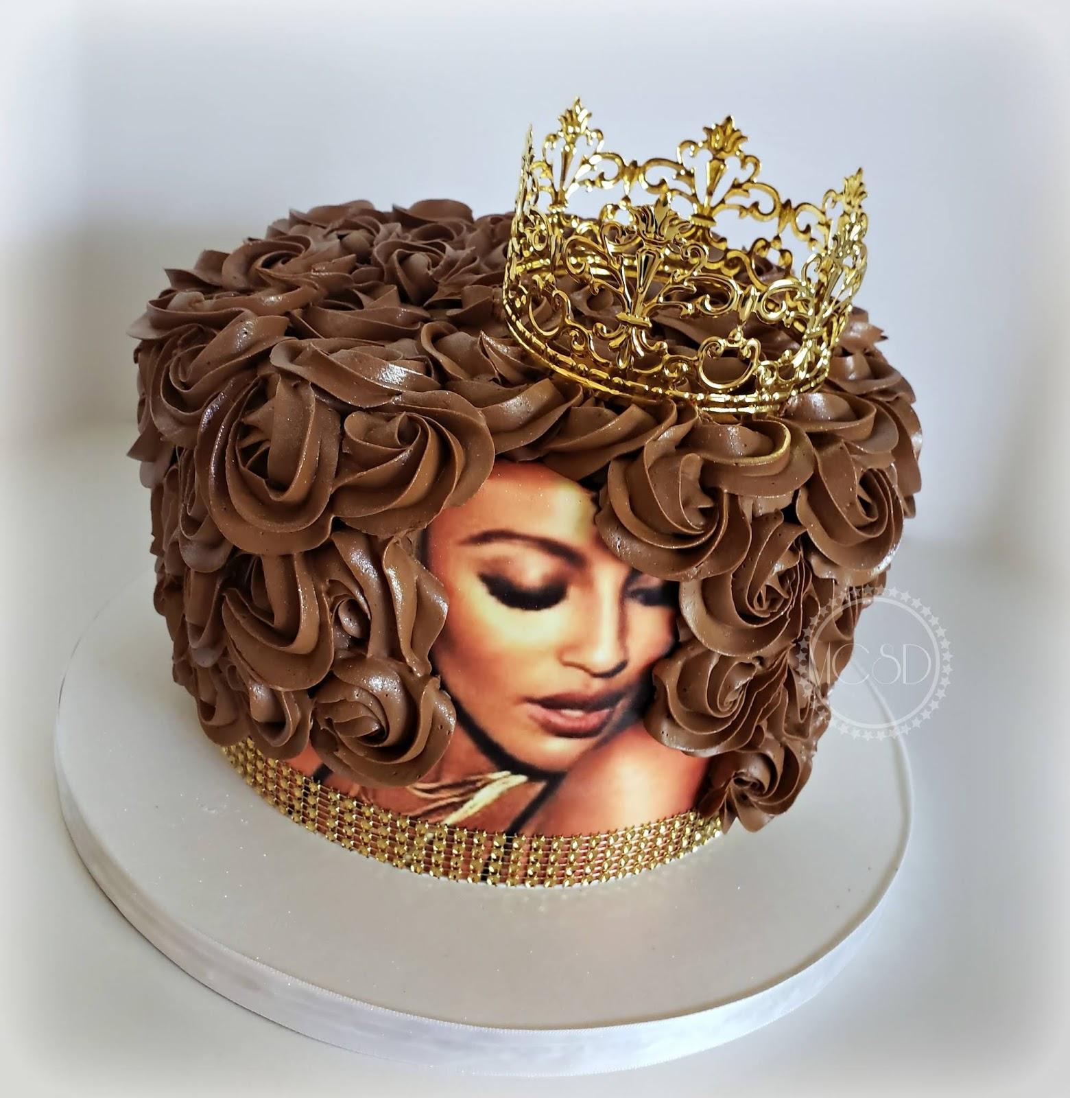 Cakesbyzana Afro Diva Cake
