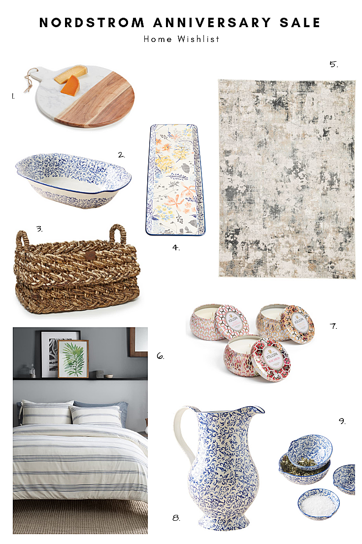 Nordstrom Anniversary Sale: Home Wishlist 2019