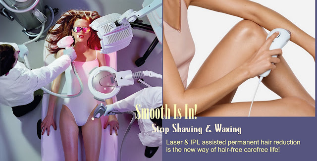 Laser hair reduction, Braun, Silk-expert, IPL