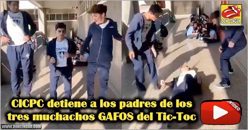 CICPC detiene a los padres de los tres muchachos GAFOS del Tic-Toc