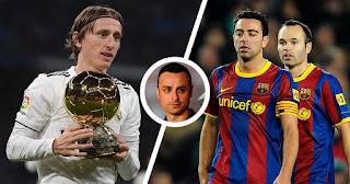 Former Manchester United striker Berbatov reveals 'Modric is on the level of Barcelona legends Iniesta and Xavi Hernandez'