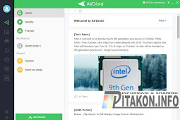 Pengertian AirDroid Software Pengelola Hp Ke PC