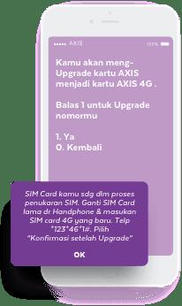 Cara Mudah Upgrade Kartu Axis 3g Ke 4g