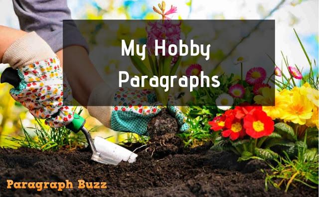 My Hobby Paragraphs