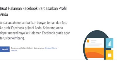 Cara Mudah Menjadikan Akun Facebook Biasa Menjadi Fanpage