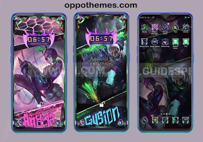 Tema Legenda Seluler Untuk Oppo & Realme Android