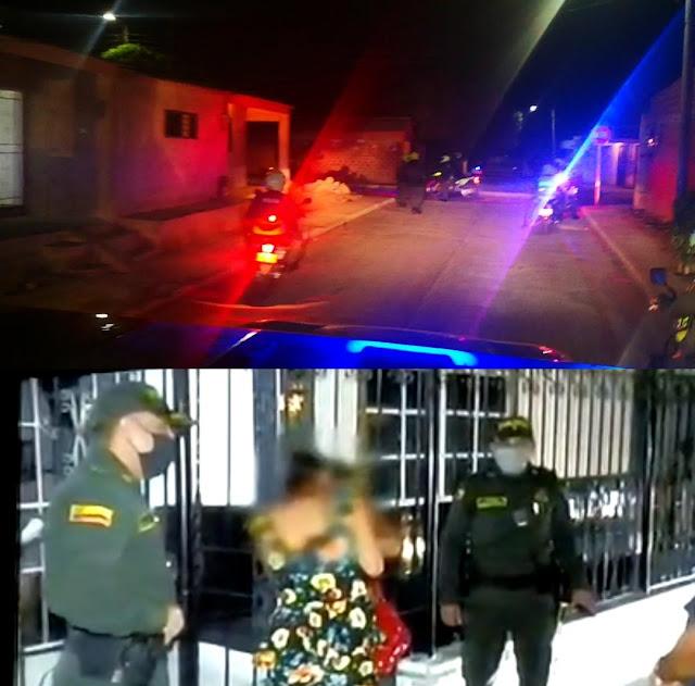 Irresponsables violan toque de queda en Riohacha