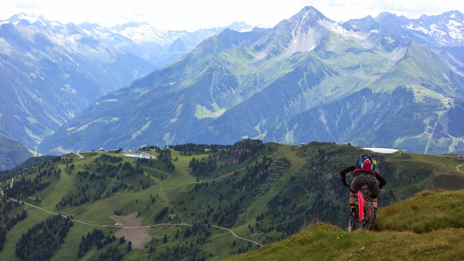 Mountainbike Strecken Zillertal