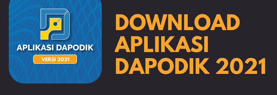 Download Aplikasi Dapodik Versi 2021 dan Buku Panduan Instalasi