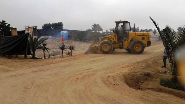 Casas de Playa - Nivelación de terreno