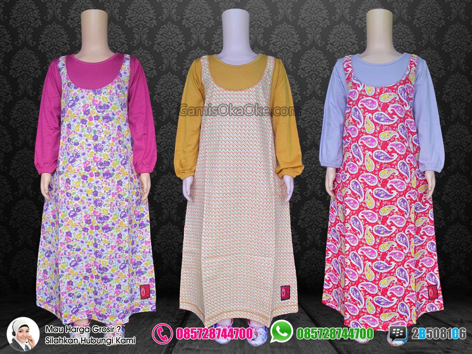 Tempat Grosir Baju Gamis Anak Perempuan Bahan Kaos Dan Katun Murah 75cd987991