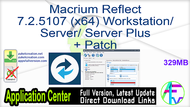 Macrium Reflect 7.3.5289 (x64) + Patch