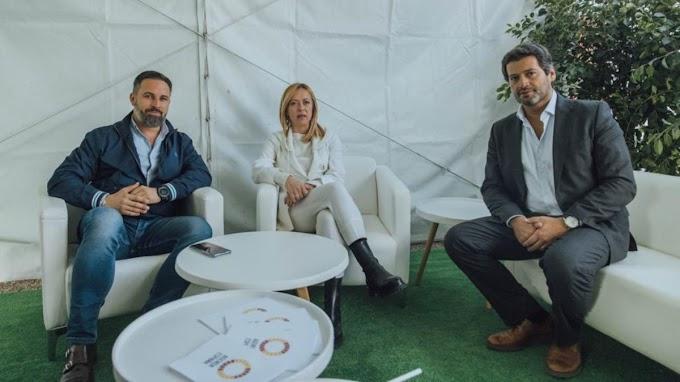 Abascal, Meloni y Ventura pondrán en marcha un foro en defensa de la 'Europa del Sur'