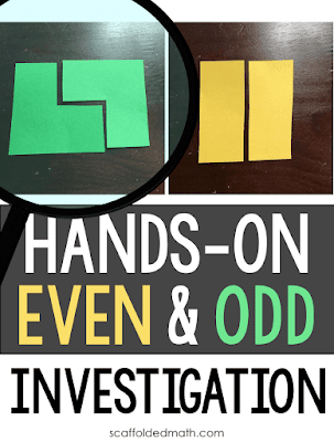 In this post I want to share a hands-on investigation into even and odd numbers that my daughter and I worked on together. This activity is so simple but really works. A couple days ago my daughter was working on a math coloring sheet I found online. We were able to discuss how even+even=even. Like people all over the world, I have been grappling with my newfound math homeschooling position so doing what I can to make it work!
