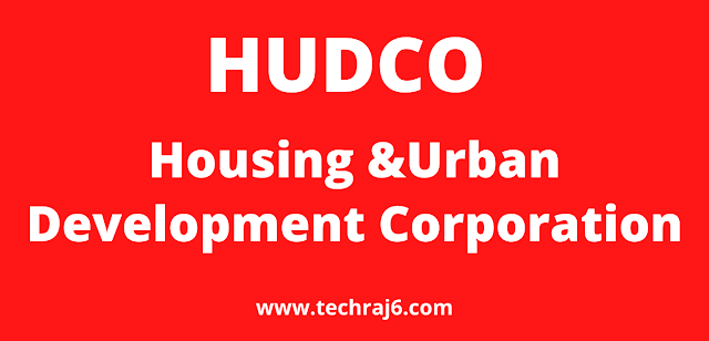 HUDCO full form, What is the full form of HUDCO