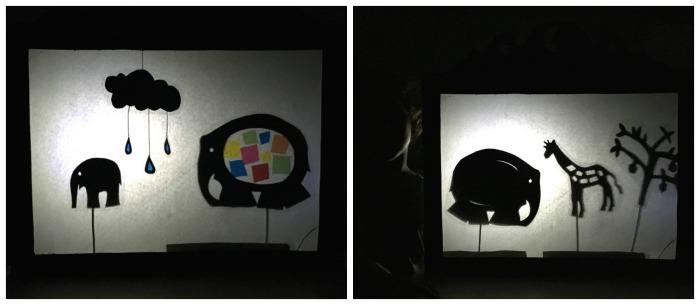 teatro sombras cuentos infantiles elmer fomentar lectura