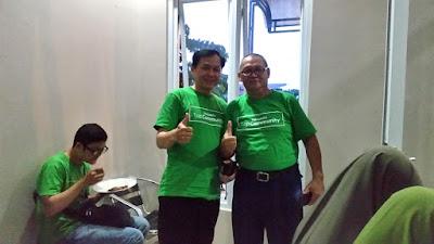 Bersama Suhu Besar Om Purnomo ketua Top Community Tokopedia Depok
