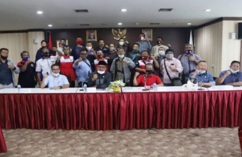 RDP DPRD Kepri-KSPI, Jumaga Nadeak Janji akan Teruskan Aspirasi Buruh ke Seluruh Fraksi