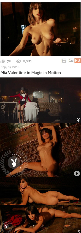 Playboy PlayboyPlus2018-09-07 Mia Valentine - Magic in Motion