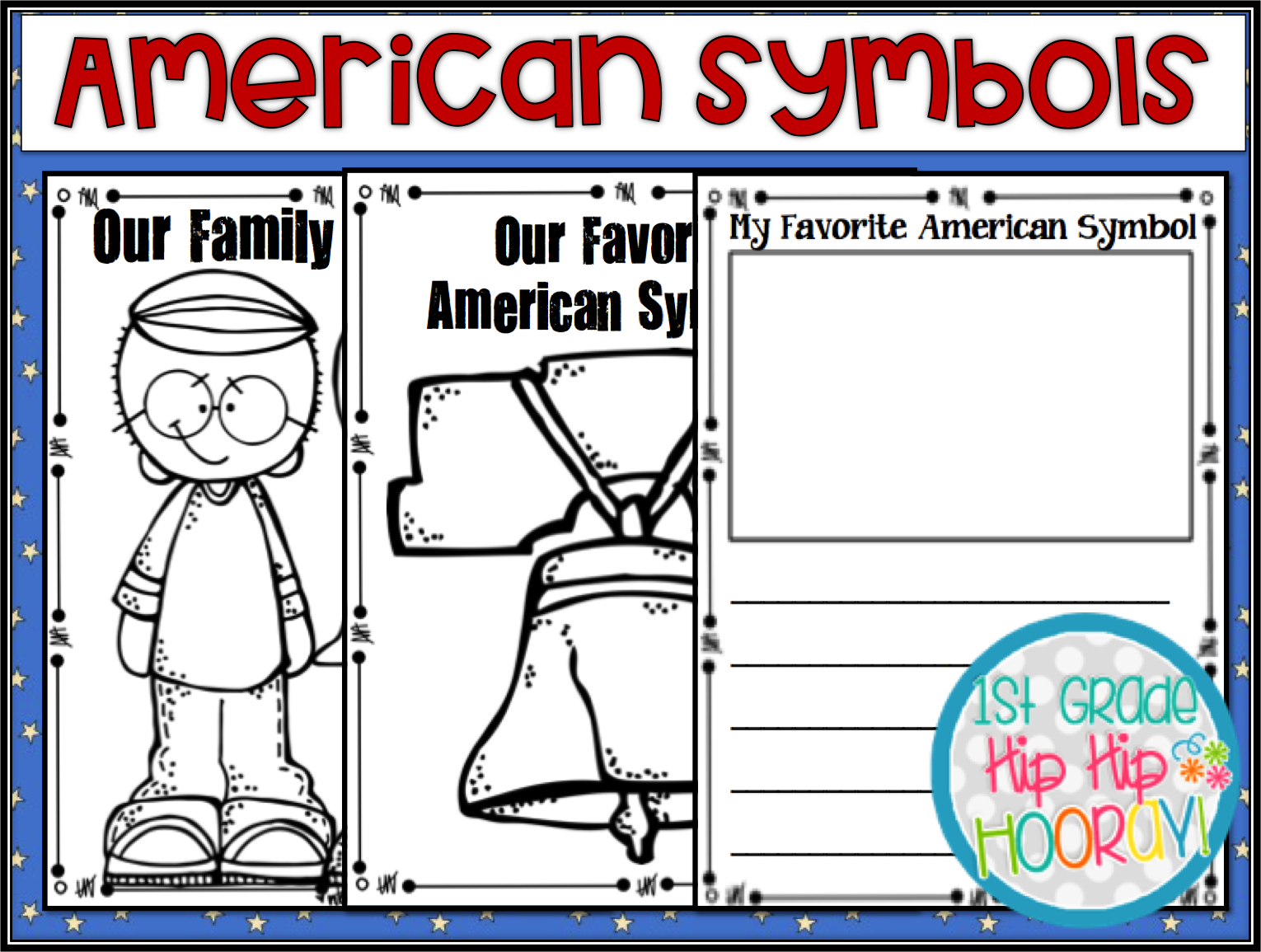 Worksheets American Symbols 1st Grade   Printable Worksheets and Activities  for Teachers [ 1155 x 1530 Pixel ]