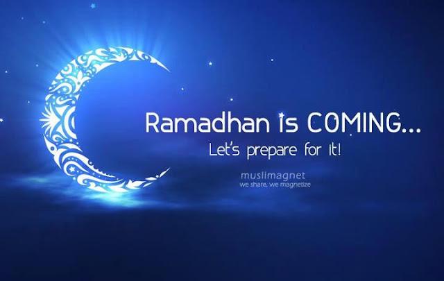 Persiapan menyambut bulan Ramadhan supaya dapat berpuasa penuh