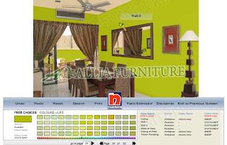 Aplikasi untuk warna Cat Dalam Rumah nippon paint