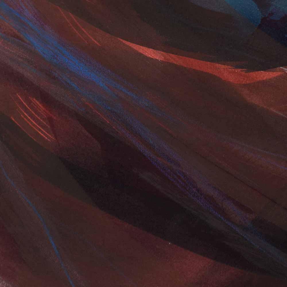 Aquarelle détail 10, 110 x 144 cm, mai 19 © Annik Reymond