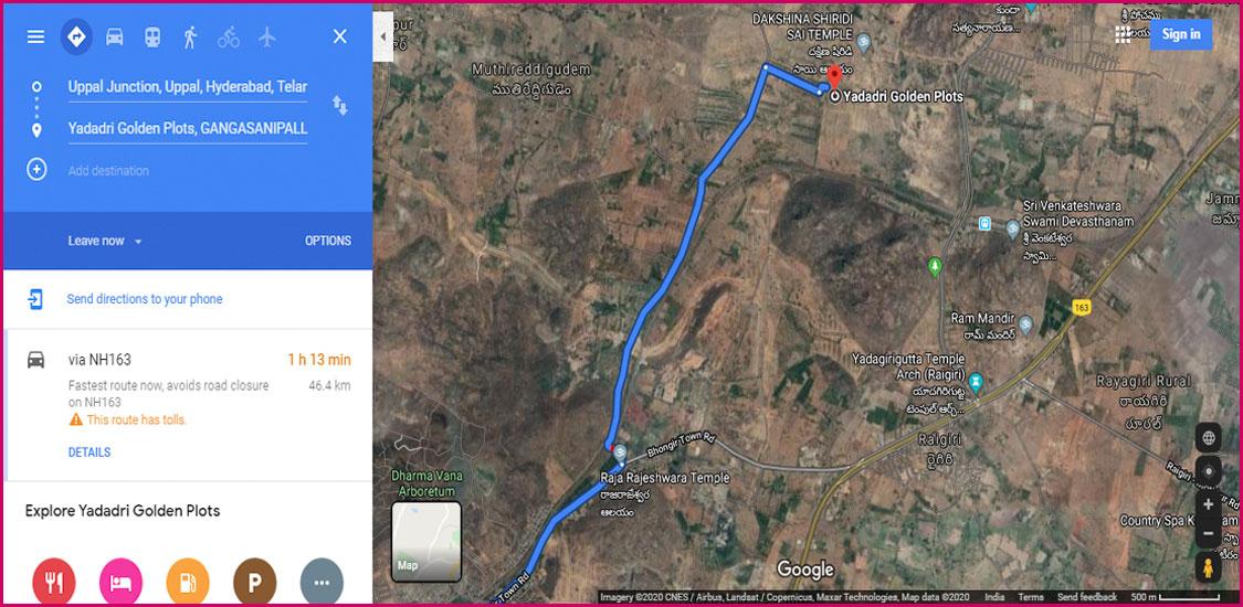 Google Maps satellite images-3