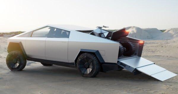 baru ini Tesla merilis sebuah produk terbarunya Review Mobil  Pickup Cybertruck Tesla
