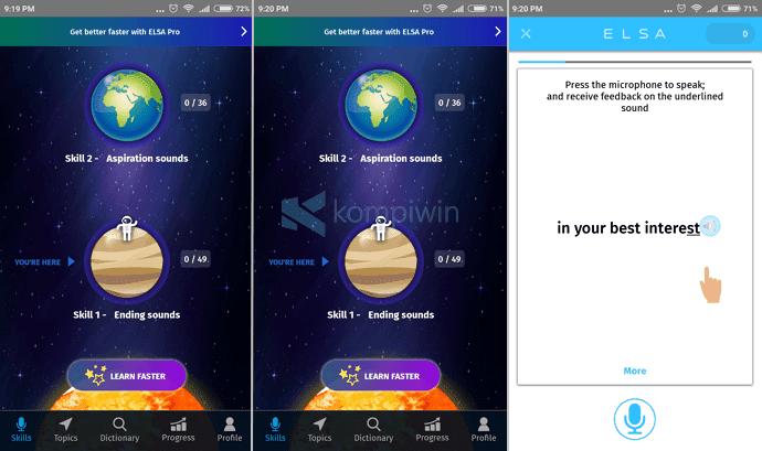 elsa speak aplikasi android terbaik bahasa inggris