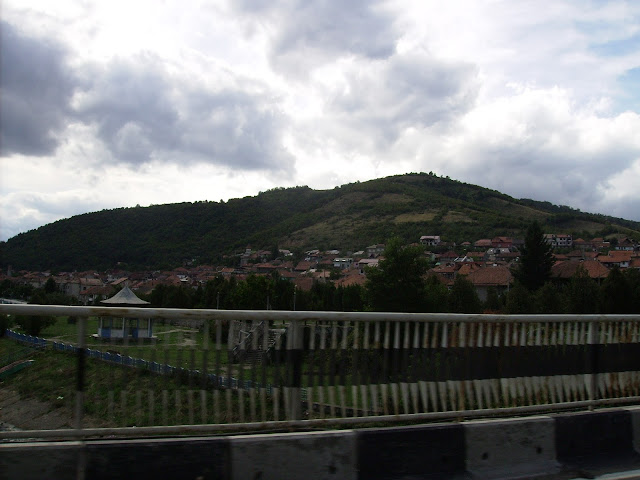 Dunărea la Orșova. Danube at Orșova.