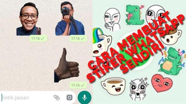 Penasaran Buat Stiker WhatsApp