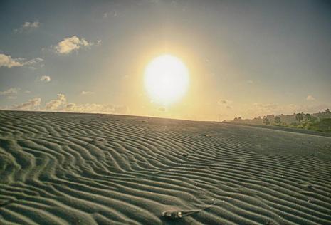 Wisata alam gumuk pasir pantai parangkusumo jogja